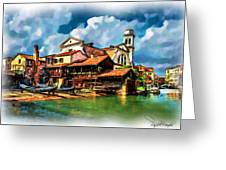 A Hidden Place In Venice Greeting Card