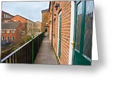 A High Walkway/alleyway Greeting Card