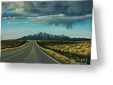 A Highway To The Rockies Greeting Card