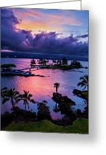 A Hilo View Greeting Card