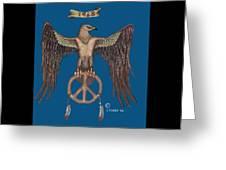 A Hippy Standard Greeting Card