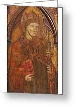 A Holy Bishop Greeting Card