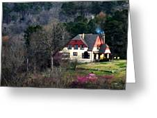 A Home In The Country Greeting Card