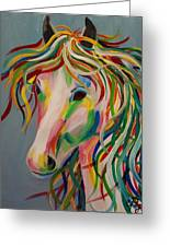 A Horse Of A Different Color Greeting Card