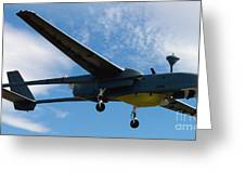 A Hunter Joint Tactical Unmanned Aerial Vehicle Greeting Card