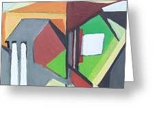 A Jersey Abstraction Greeting Card