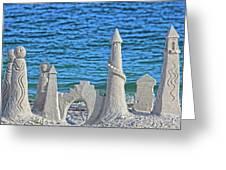 A Kingdom By The Sea Greeting Card