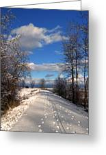 A Kootenai Wildlife Refuge Winter Greeting Card