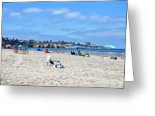 A La Jolla Shores Summer Greeting Card