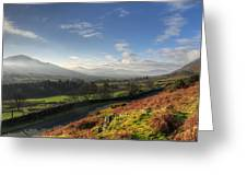 A Lake District Landscape Greeting Card