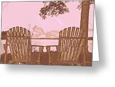 A Lake Murray Sc Sketch Greeting Card