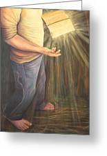 A Lamp Unto My Feet Greeting Card