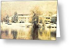A Late Winter Xvi Greeting Card