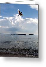 A Leap To Freedom Greeting Card