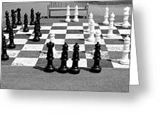A Life Time Game Of Chess Greeting Card by Danielle Allard
