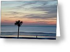 Daytona Beach Sunrise Greeting Card