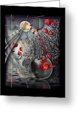 A Little Bit Of Death Between The Worlds Greeting Card by Mimulux patricia no No