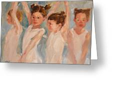 A Little Degas Greeting Card