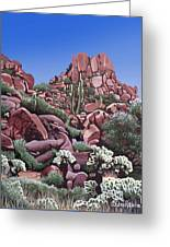 A Little Slice Of Arizona Greeting Card
