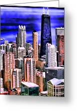 A Look At Chicago Greeting Card