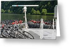 A Lot Of Bikes Greeting Card
