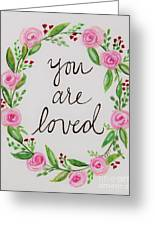 A Love Note Greeting Card