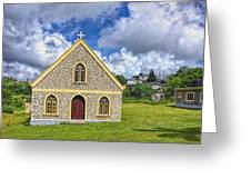 A Lovely Jamaican Church Greeting Card