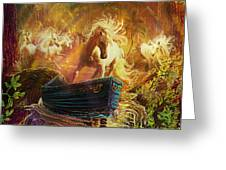 A Magical Boat Ride Greeting Card