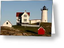 A Maine Lighthouse  Greeting Card