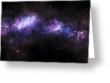 A Massive Nebula Covers A Huge Region Greeting Card by Justin Kelly