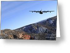 A Mc-130j Combat Shadow II Aircraft Greeting Card