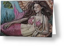 A Mermaid Named Pearl Greeting Card