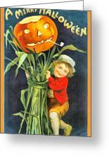 A Merry Halloween Greeting Card