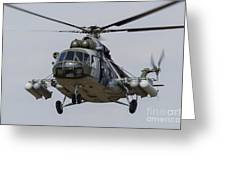 A Mil Mi-17 Helicopter Of The Czech Air Greeting Card