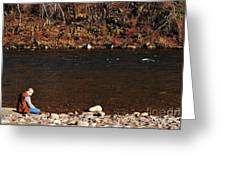 A Moment By The Water Greeting Card