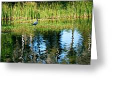 A Monet Moment Greeting Card