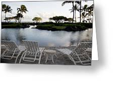 A Morning In Kauai Hawaii Greeting Card by Susan Stone
