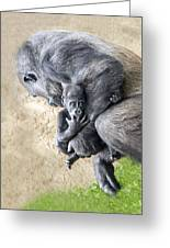 A Mother's Embrace Greeting Card