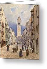 A Motif From Sterzing Greeting Card