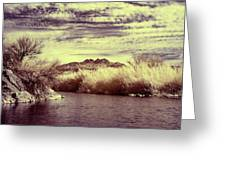 A Mystical River View Greeting Card