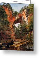 A Natural Bridge In Virginia Greeting Card