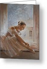 A New Day Ballerina Dance Greeting Card