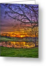 A New Day Dawns Greeting Card