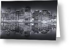 A New York City Night Greeting Card