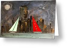 A New York Sail Greeting Card