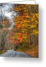 A Newport Autumn Greeting Card