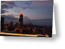 A Night In Atlanta Greeting Card