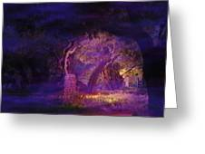 A Night Of Weeping In The Garden Gethsemane Israel 2008 Greeting Card