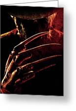 A Nightmare On Elm Street 2010 Greeting Card