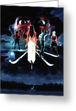 A Nightmare On Elm Street 3  Dream Warriors 1987 Greeting Card